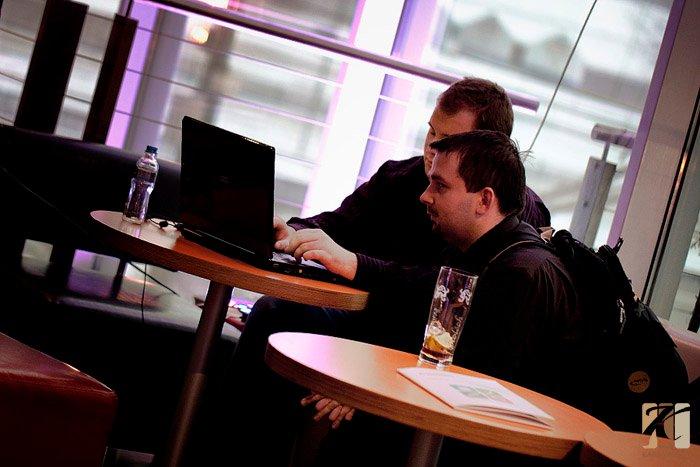 Na chwilę przed premierą Manubii - Shopcamp Katowice - 27.11.2010